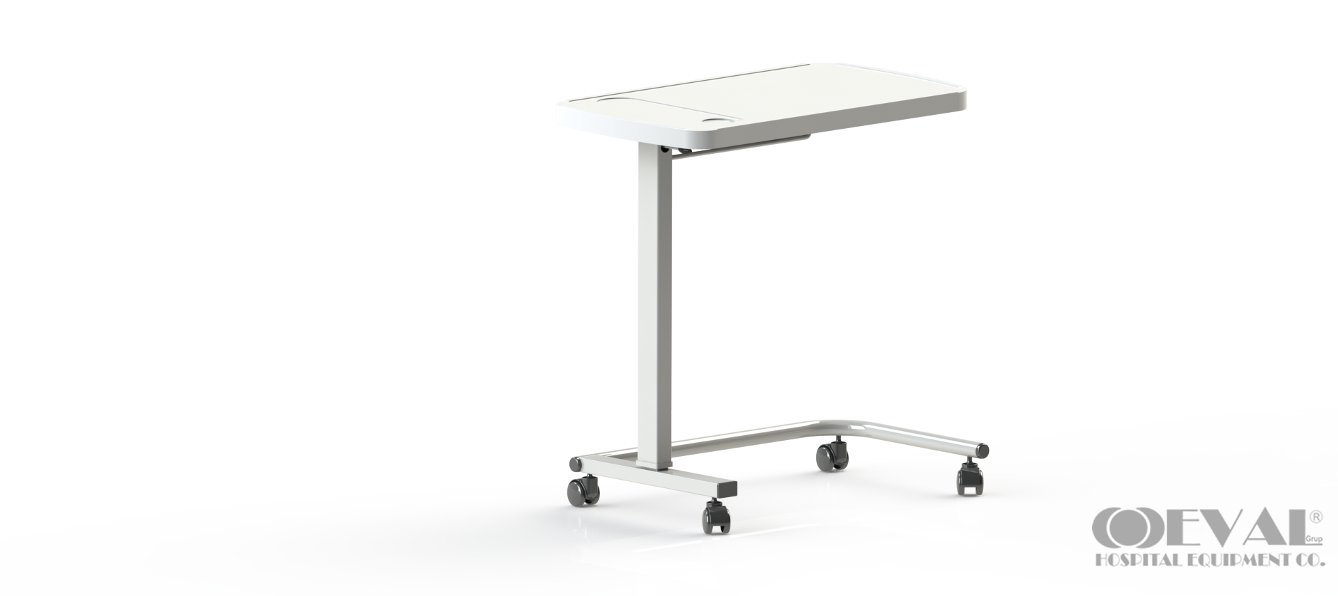 ABS 01 OVERBED TABLE