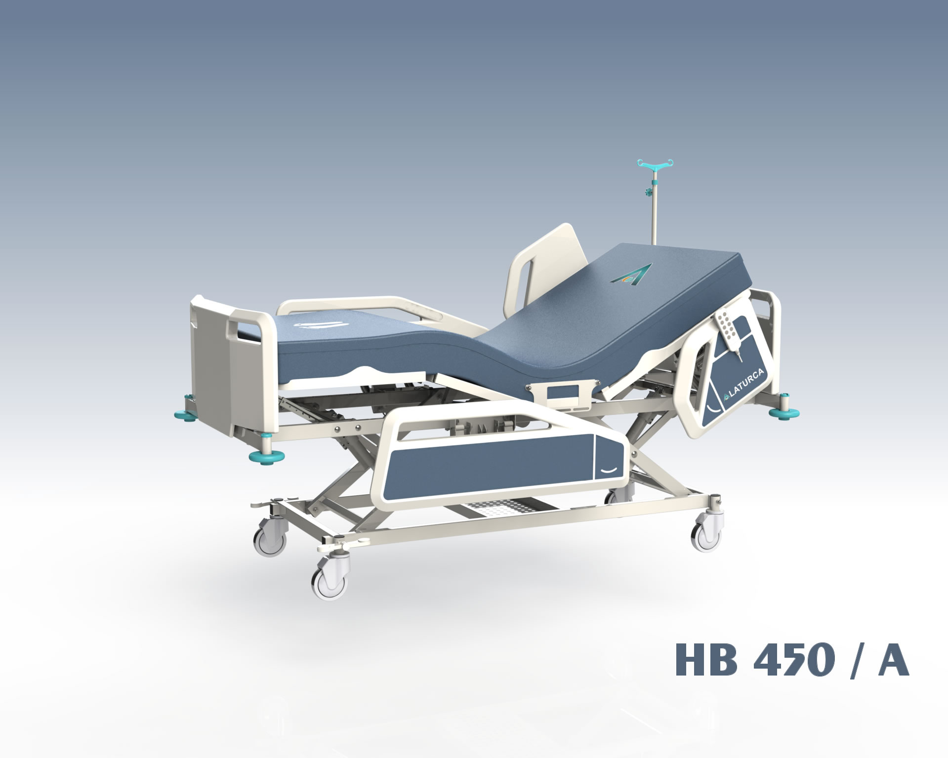 HB450+ Hospital Bed, 4+1 Adjustment Fully Electrical Control