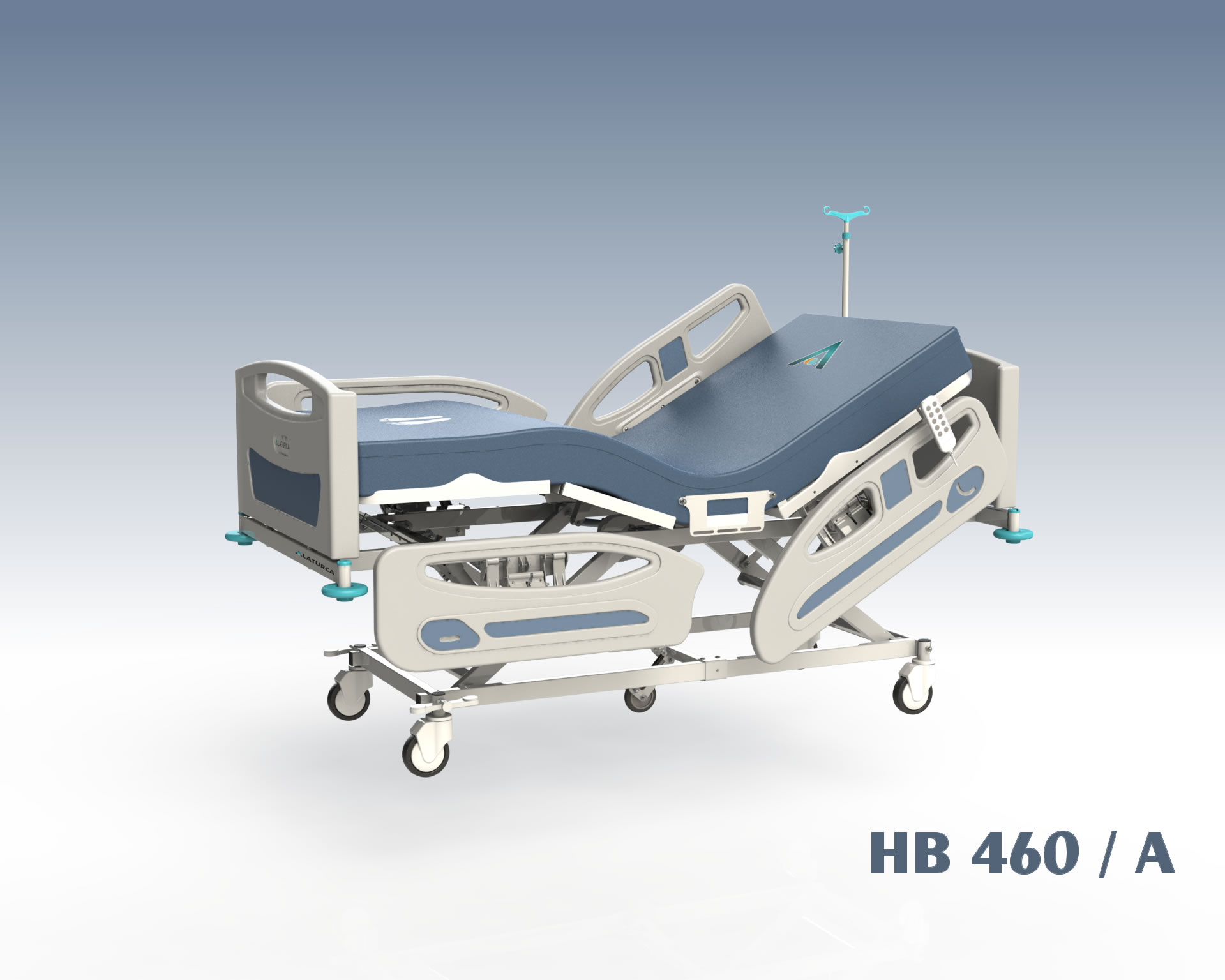 HB460+ Hospital Bed, 4+1 Adjustment Fully Electrical Control