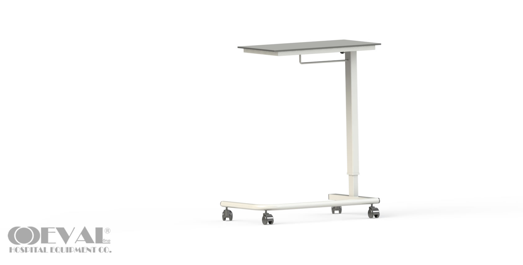 C 01 HPL OVERBED TABLE